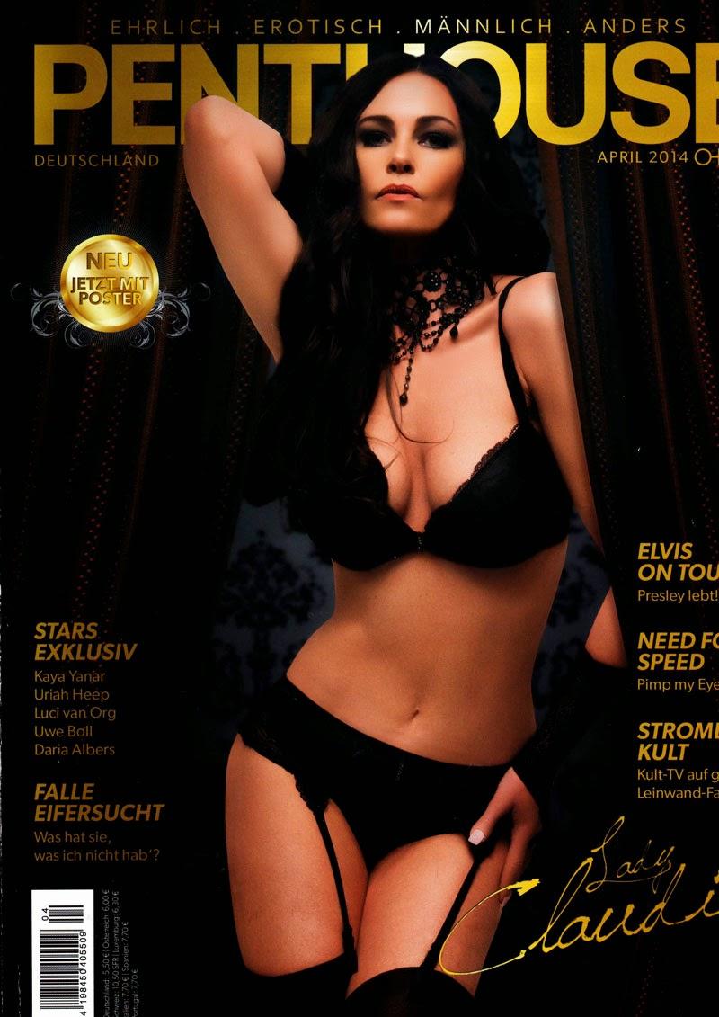 Das Sexmagazin Penthouse berichtet über das wilde Treiben auf den GangBang Partys von Laureen Pink